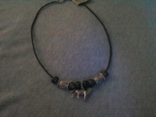 A necklace?