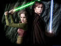 Anakin and Padme Jedi's - star-wars-revenge-of-the-sith wallpaper