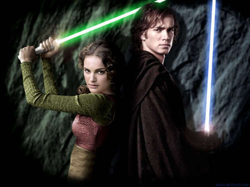 Anakin and Padme Jedi's