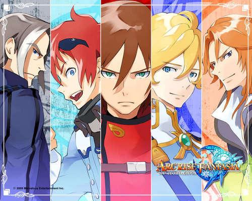 Arc Rise Fantasia boys