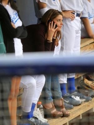 Ashley @ Baseball Game