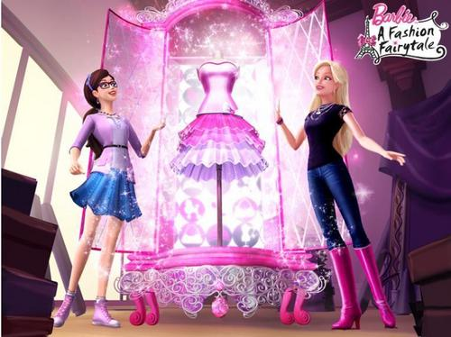 Barbie A Fashion Fairytale- Glitterizer
