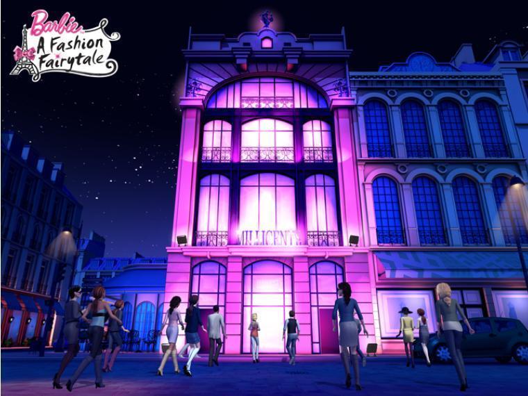 Barbie A Fashion Fairytale Millicent 39 S Fashion House Barbie Movies Photo 15010545 Fanpop