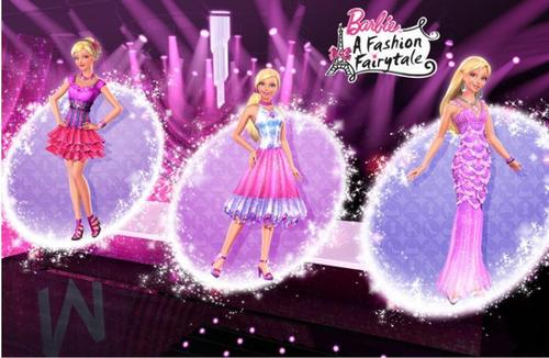 Barbie A Fashion fairytale- Designs by Marie- Alecia