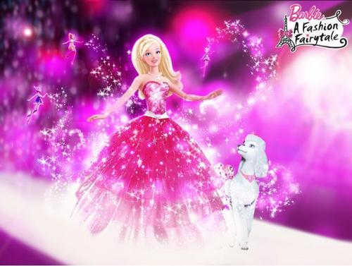 Barbie A Fashion fairytale- Glimmer, Shimmer, Shine!