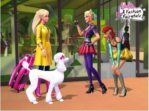 बार्बी A Fashion fairytale- Meets Jacqueline