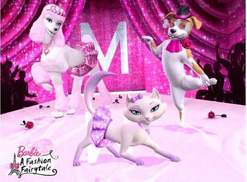 Barbie A Fashion fairytale- So glam, as their mistresses