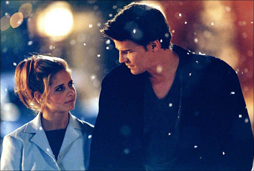 Bangel wallpaper called Buffy&Angel - season 3