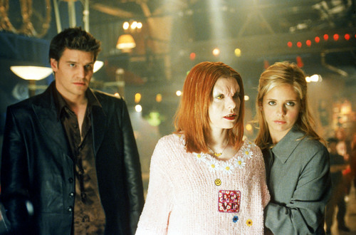Bangel wallpaper entitled Buffy&Angel - season 3