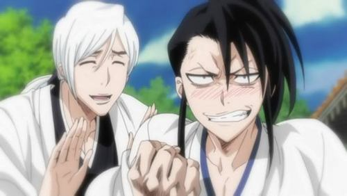 Byakuya and Jushiro