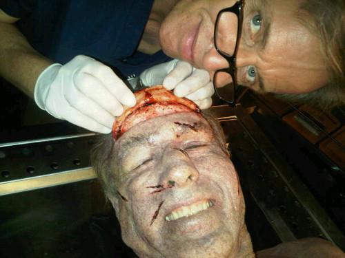 CSI: NY - Season 7 - BTS фото of Dr Sid Hammerback