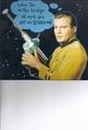 Captain Kirk card