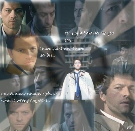Castiel the angel