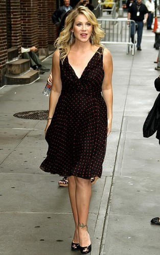 Christina out in NYC