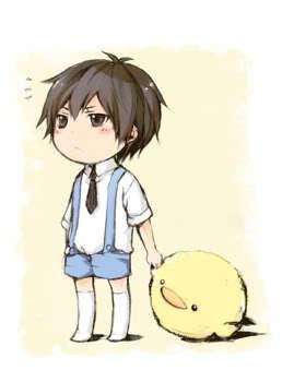 Cute chibi Hibari