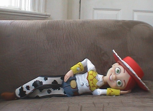 Jessie (Toy Story) Обои titled Don't hate me because I'm cute