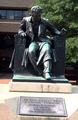 EAP Statue at My Alma Mater, Univ of Balt - edgar-allan-poe photo
