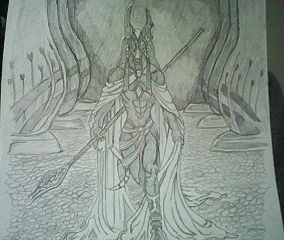 anubis egyptian god. Egyptian God Anubis *hand