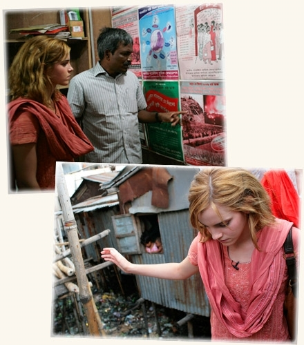Emma in Bangladesh for People Tree - OFFICIAL PICS