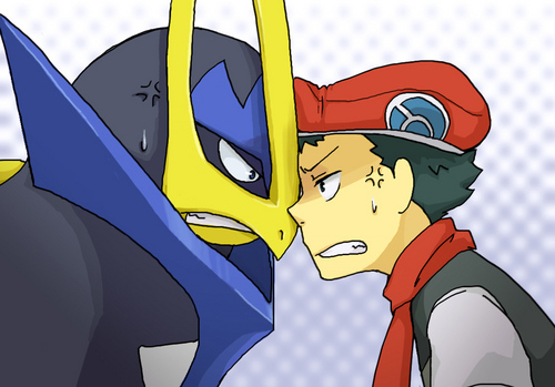 Pokemon Guys 바탕화면 called Empoleon and Lucas