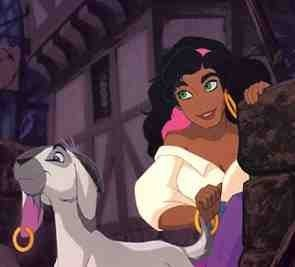 Disney Leading Ladies karatasi la kupamba ukuta called Esmeralda