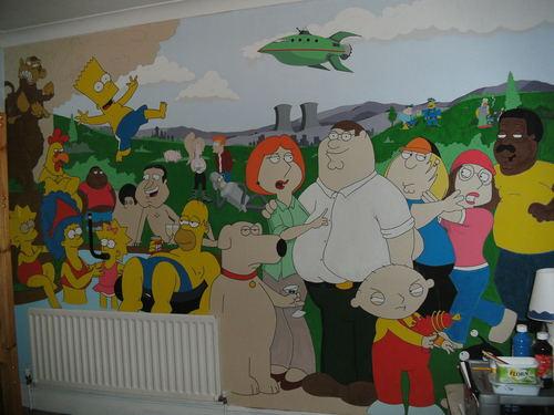Family Guy Mural