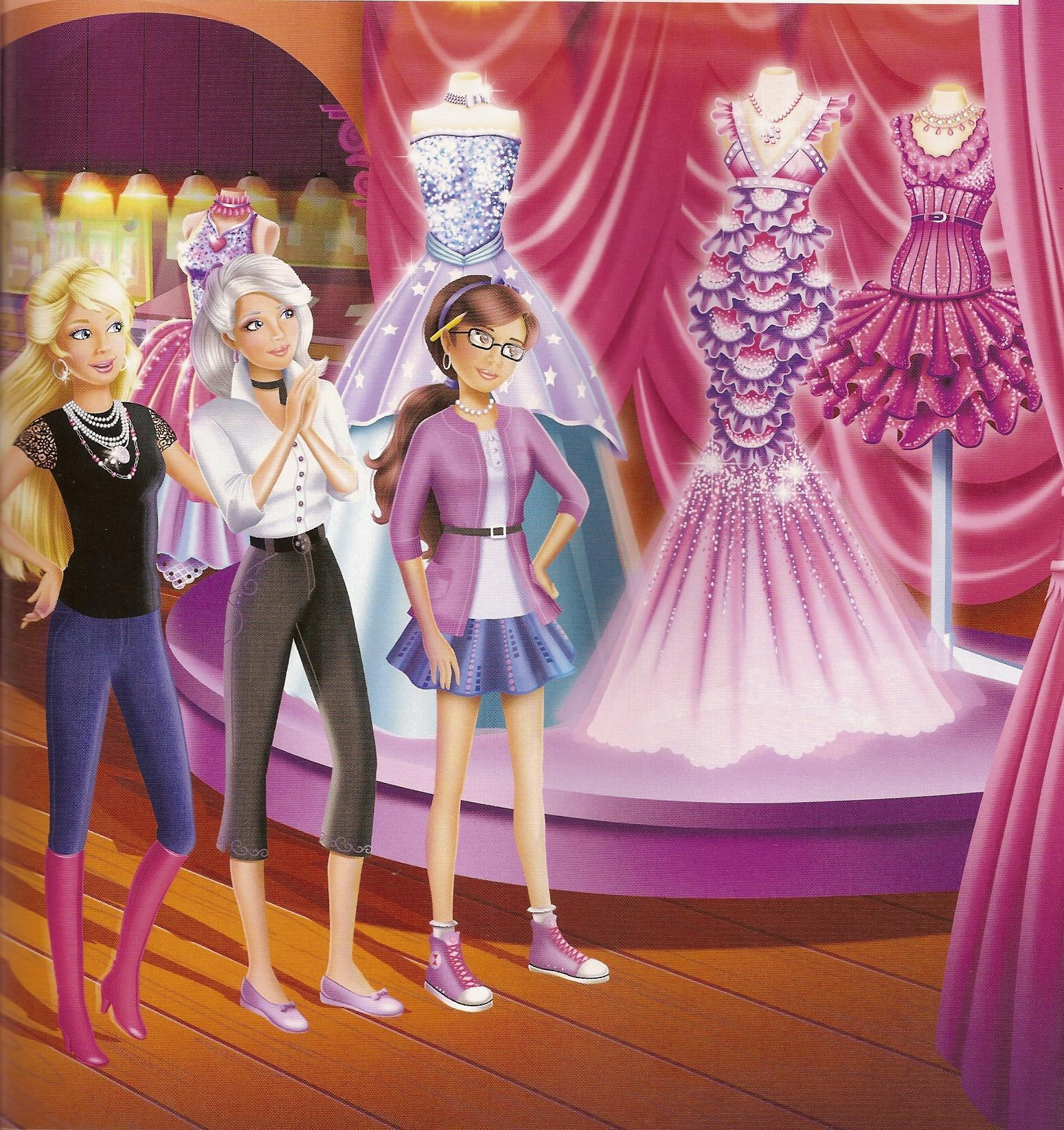 Barbie A Fashion Fairytale Dresses
