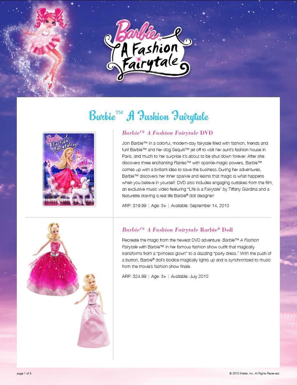 Barbie fashion fairytale adventure games 87