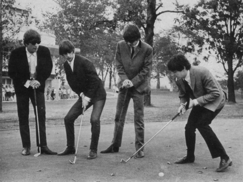 Golfing with The Beatles
