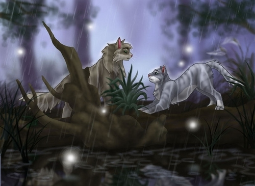 Warriors (Novel Series) Hintergrund titled Graystripe and Silverstream