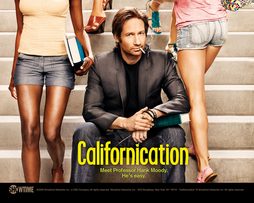 Hank Moody - californication Wallpaper