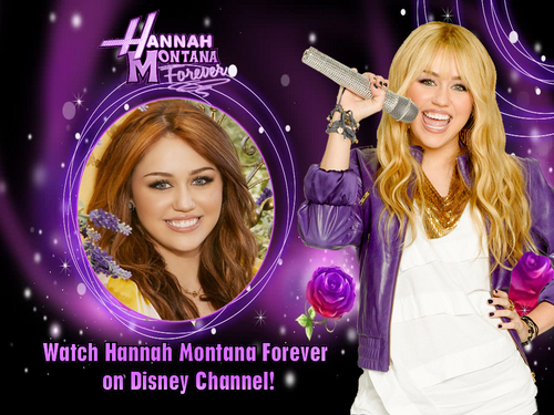 Hannah montana season 4'ever EXCLUSIVE MILEY VERSION 壁紙 as a part of 100 days of hannah!!!