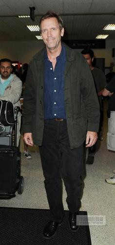 Hugh Laurie wallpaper called Hugh Laurie-LAX Airport 08Jun2010