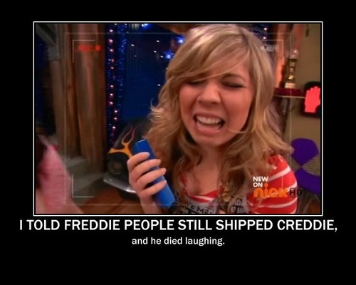 I told Freddie People Still Ship Creddie, and he Died Laughing.