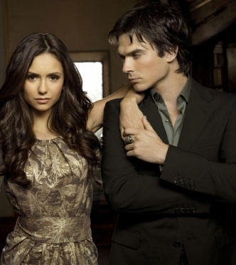 Ian Somerhalder and Nina Dobrev wallpaper entitled Ian & Nina - Season 2