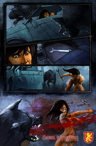Interior Art for Mercy Graphic Novel