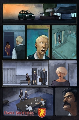 Mercy Thompson Series fond d'écran called Interior Art for Mercy Graphic Novel