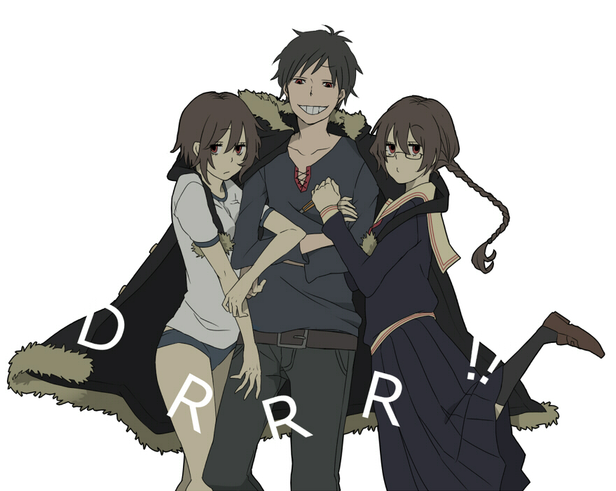Durarara!! images Izaya hug! HD wallpaper and background ...