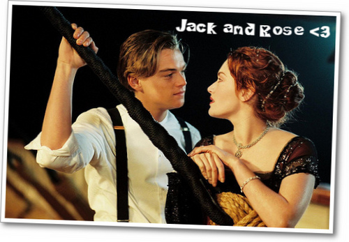 Titanic wallpaper entitled Jack and Rose <3