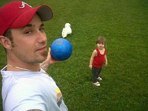 Jazmyn Bieber & dad