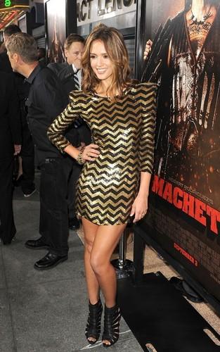 Jessica @ Machete LA Premiere