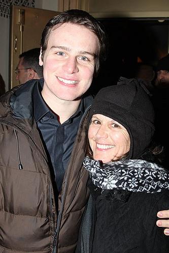 Jonathan and his mom