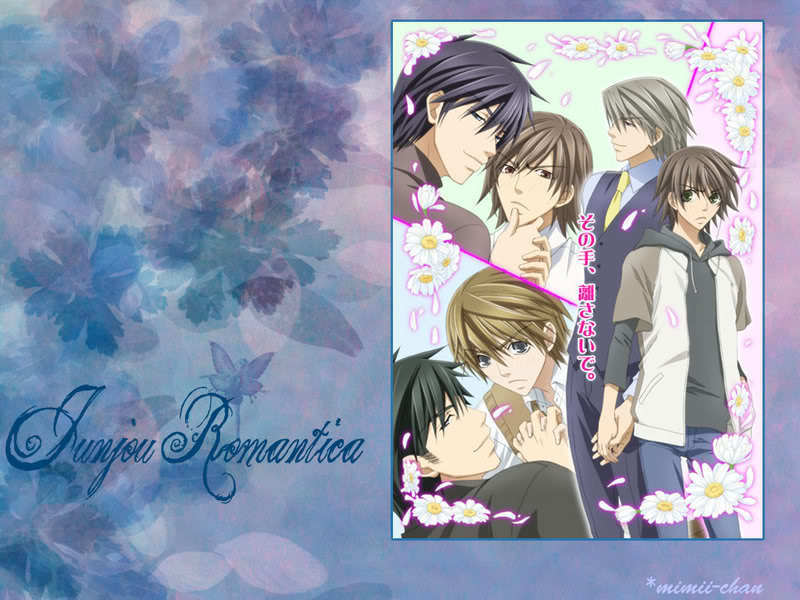 Junjou Romantica - junjou-romantica wallpaper