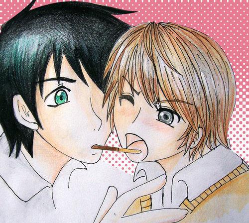 Junjou Romantica (Чистая романтика)