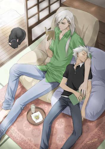 Jushiro and Toshiro