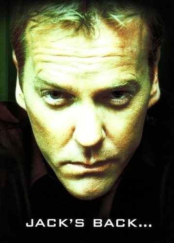 24 wallpaper titled Kiefer Sutherland as Jack Bauer