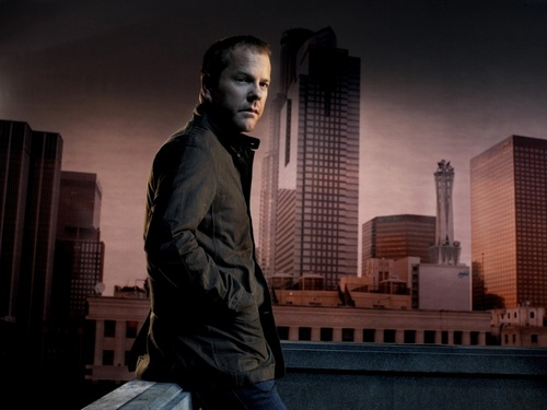 24 wallpaper entitled Kiefer Sutherland as Jack Bauer