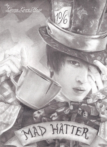 "Kim Jaejoong ""The Mad (and Hot) Hatter"""