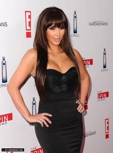 Kim @ 'Keeping up with the Kardashians' Season 5 Premiere Party