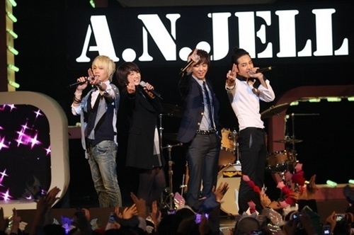 A.N.JELL fond d'écran entitled Last concert
